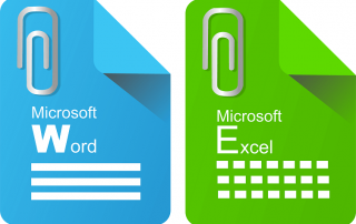 insert Excel spreadsheets into Word Documents
