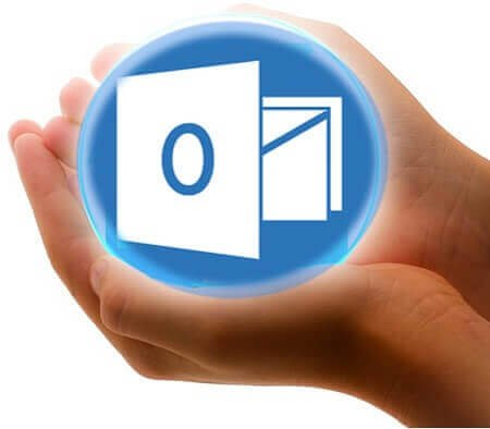Microsoft Outlook: Save e-mail and contacts as a pst file