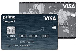 The Amazon.de Visa cards in the test